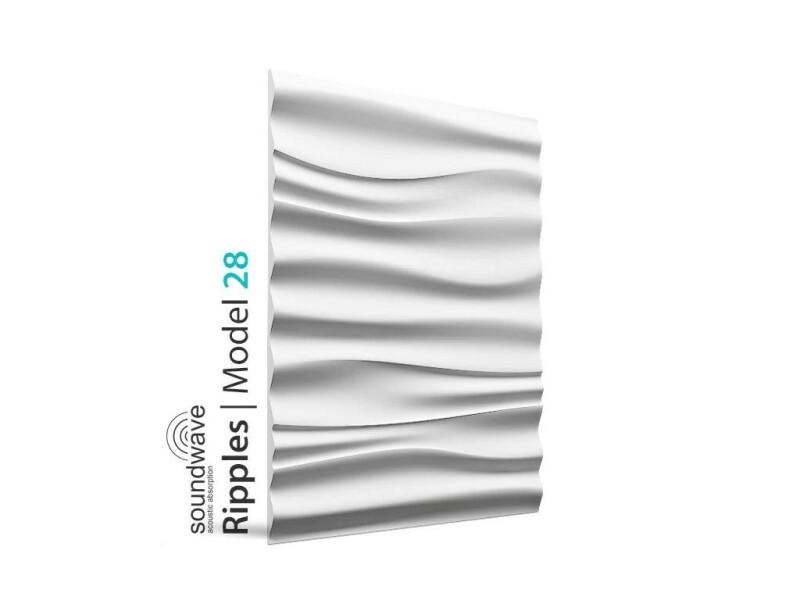 3D Wandpaneele 60 x 70 RIPPLES 28
