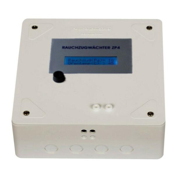 Rauchzugwächter ZP4 AP Aufputz Display