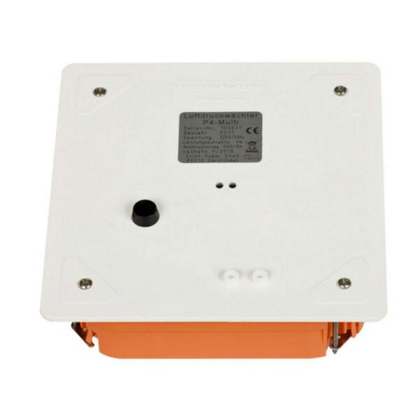 Rauchzugwächter ZP4 UP Unterputz Klemmkasten LED