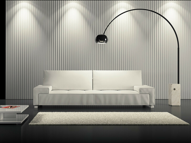 3d wandpaneele f r loft design wandgestaltung. Black Bedroom Furniture Sets. Home Design Ideas