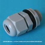 P4 Kabel/Schlauchverschraubung Klemmbereich Ø 5-10mm