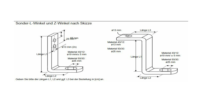 sonder z winkel 50x30 mm 222 66. Black Bedroom Furniture Sets. Home Design Ideas