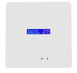 Rauchzugwächter ZP4 UP Klemmkasten Display HOME-DESIGN